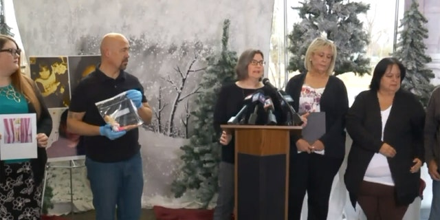 The Utah Cold Case Coalition held a press conference Thursday to share the news that the doll left at the gravesite of Rosie Tapia may, in fact, be a valuable clue.