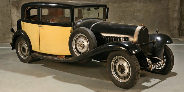 This Type 49 Berline features coachwork by Vanvooren and was used as a show car in 1932.