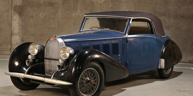 Thomassen's 1937 Type 57 Cabriolet sold for $550,000