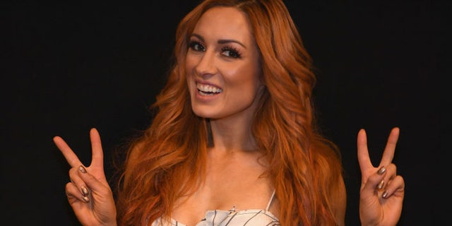 Becky Lynch at the ACMs in 2018. (Getty)