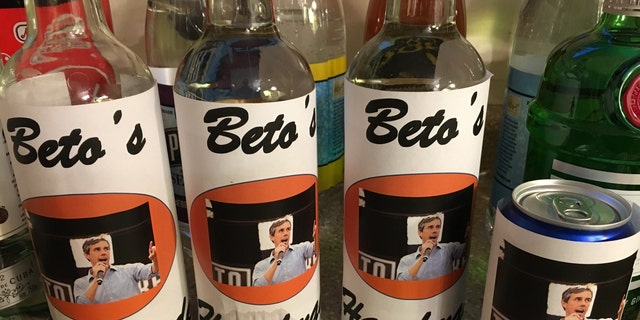 'Draft Beto' group makes Beto-inspired alcoholic beverages in effort to get Beto O'Rourke to run for president in 2020.