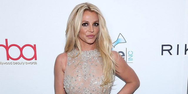 Britney Spears danced to her ex-boyfriend Justin Timberlake and Jay-Z's song 'Holy Grail' on Wednesday.