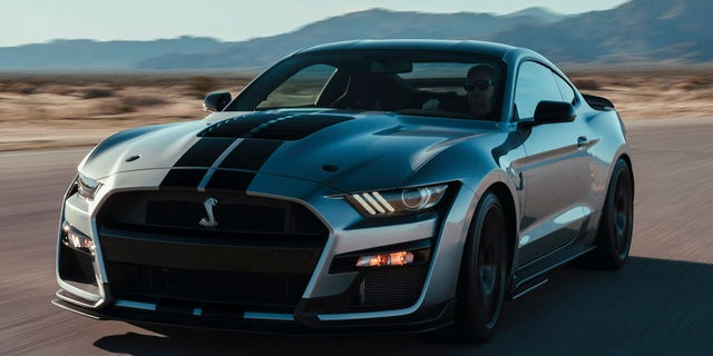 Detroit The  Ford Mustang Gt Unveiled At The Detroit Auto Show Is The Most Powerful Sports Car The Automaker Has Ever Built But Its No One Trick