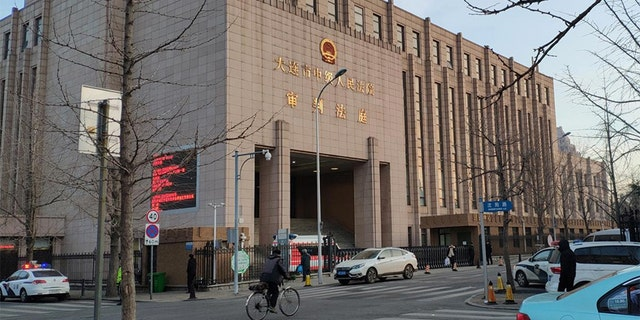 A general view of the Intermediate People's Court of Dalian, where the trial for Robert Lloyd Schellenberg, a Canadian citizen on drug smuggling charges, was held in Liaoning province, China.
