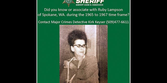 Ruby Lampson, who was reported missing on June 6, 1967.