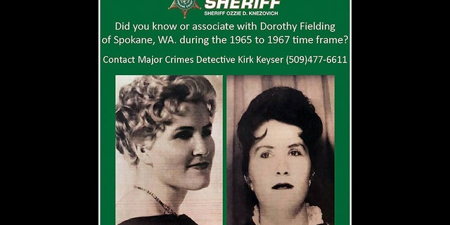 Dorothy Fielding, who was 31 at the time, was reported missing on August 19, 1967. Her decomposed body was discovered eight months later in a shallow grave in Spokane.