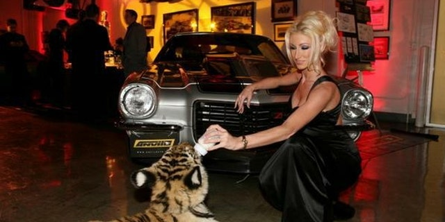 """Crystal DiGregorio-Bassette filed bankruptcy when she quit porn three years ago. At one point she owned a nightclub called """"Club Crystal,"""" a $10 million mansion in Malibu, two escalades, and a Ferrari."""