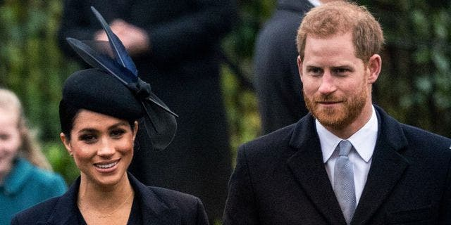 Duchess of Sussex Meghan Markle with her husband Prince Harry.