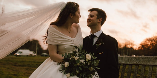 Eve and Angus Paterson wed in London in December 2018.