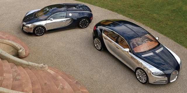 The Galibier Concept of 2009 was meant to be a follow-up to the Veyron, but has yet to come to fruition.