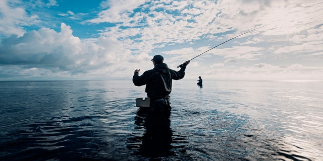 """""Going fishing outdoors increases your vitamin D, which helps regulate the amount of calcium and phosphate in your body, keeping your bones and teeth healthy. It boosts your immune system and has been linked to fighting depression."""
