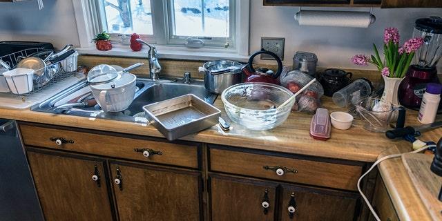 Hopefully you HAVE a dishwasher.