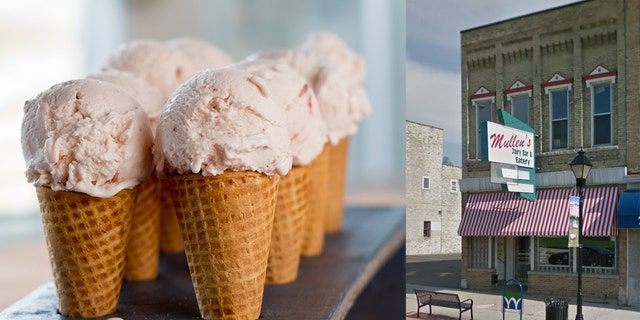 The historic ice cream shop has been giving away the free frozen treats when temperatures plummet to such dramatic lows since it was founded in 1932.