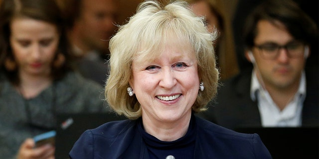 Former Canadian Prime Minister Kim Campbell blasted President Trump in an expletive-laden message.