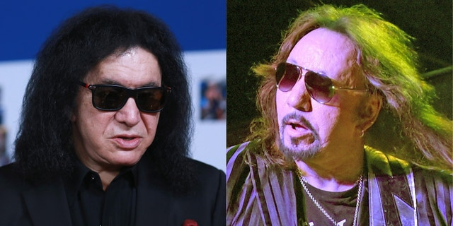 Gene Simmons and Ace Frehley