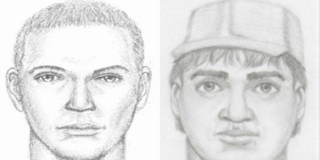 Police released sketches of suspects involved in Maggie Long's murder in 2017.