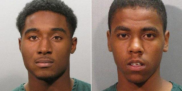 Kennard Deshun Mahone, left, and Jonathon Marichal Brooks were also named in the lawsuit and ordered to pay the family.