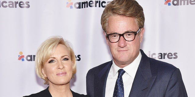 """Morning Joe"" co-hosts Mika Brzezinski and Joe Scarborough"
