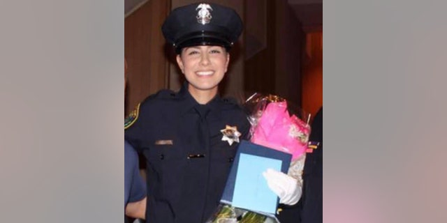 Officer Natalie Corona completed field training just before Christmas and had been out on her own for just a couple of weeks.