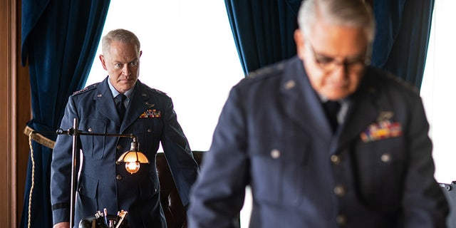 "Neal McDonough on History Channel's ""Project Blue Book."" — History Channel"