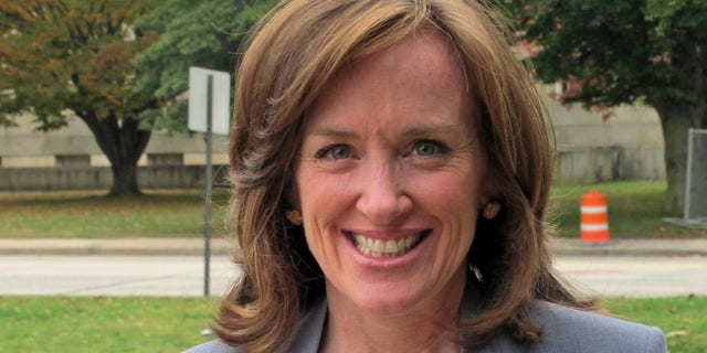 House Speaker Pelosi on Tuesday blocked Rep. Kathleen Rice's (pictured) bid for a seat on the influential House Judiciary Committee, punishing one of the leading critics of Pelosi who opposed her speakership earlier this month. (Associated Press)