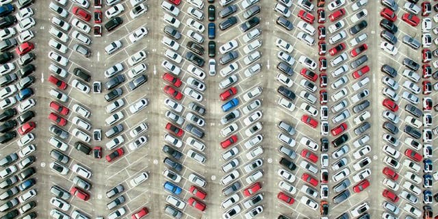A mathematician says this is the best way to park.