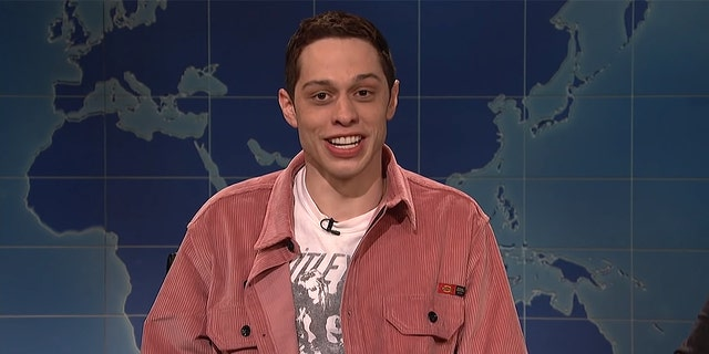 "Pete Davidson on ""Saturday Night Live."" (NBC)"