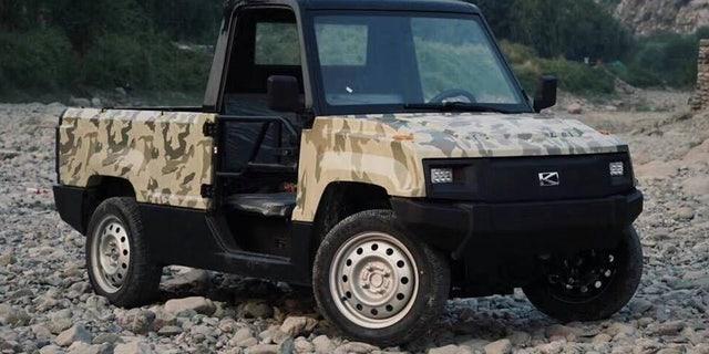 Half Ton Truck >> New Half Ton Electric Pickup Costs Just 5 700 Fox News