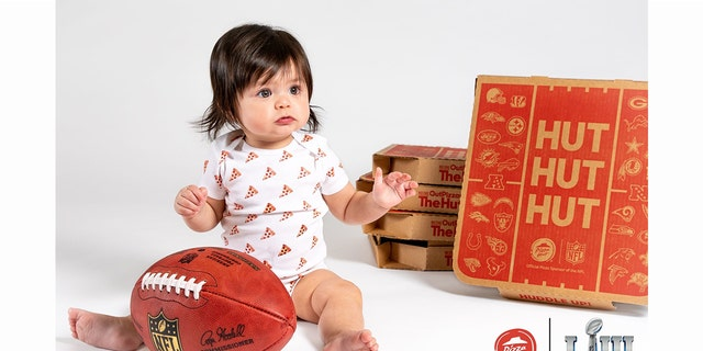 The social media games have already begun for Super Bowl LIII, as reps for Pizza Hut, the official pizza sponsor of the NFL, have announced that the chain will be presenting free pizza and tickets to next year's Super Bowl to the family of the first baby born after kickoff through an online contest.