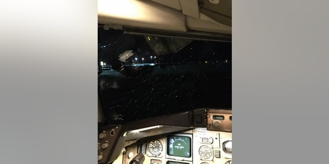 "The document states that if the last layer of the windshield had broken before landing, ""both pilots would have likely been sucked out of the plane."""