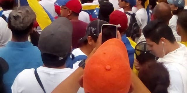 A local journalist vowed to stay in Venezuela as long as he could.