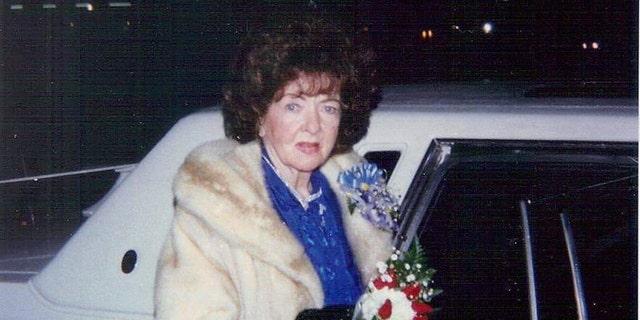 Ida Lupino in her later years.