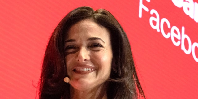 Sheryl Sandberg, Managing Director of Facebook, speaks onstage at the Digital Life Design (DLD) innovation conference.