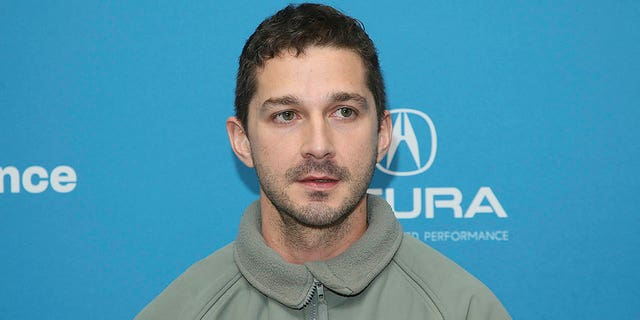 "Actor Shia LaBeouf poses at the premiere of ""Honey Boy"" during the 2019 Sundance Film Festival, Friday, Jan. 25, 2019, in Park City, Utah."