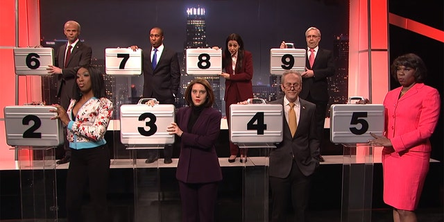 """""""Saturday Night Live"""" sketch """"Deal or No Deal: Government Shutdown Edition"""""""