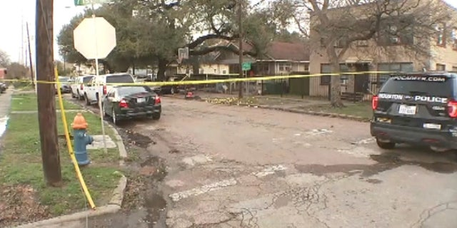 Houston Police said the homeowner appeared to have been defending himself.