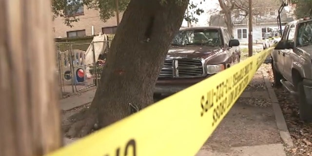 Three men were killed and two were injured after a homeowner opened fire during a home invasion in Houston on Sunday.