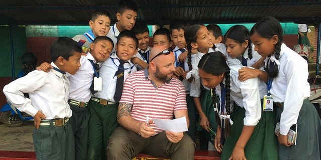 Keith Poultney was teaching English in Nepal when he was bitten by a tick, which spread a rare infection throughout his body leaving him with memory loss and fatigue.