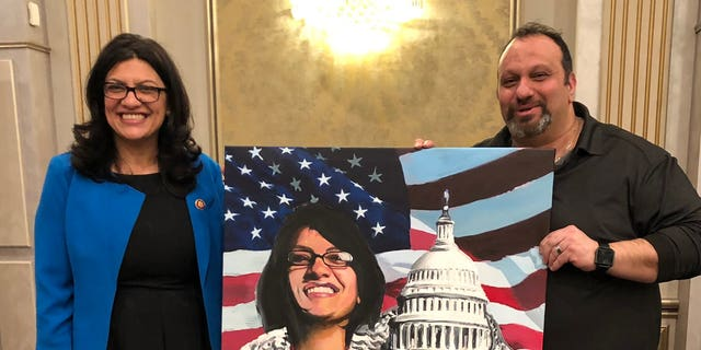 Rashida Tlaib was photographed with Abbas Hamideh, a supporter of the Democrat and a co-founder of Al-Awda, who made numerous inflammatory and hateful remarks on social media.