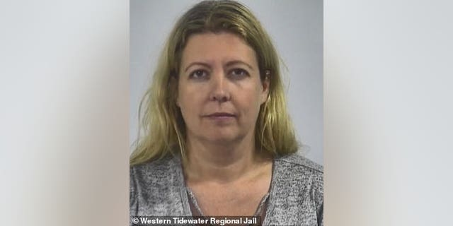Christina Patterson, 42, is expected to stand trial beginning March 1 on bestiality and animal cruelty charges, authorities say. (Western Tidewater Regional Jail)