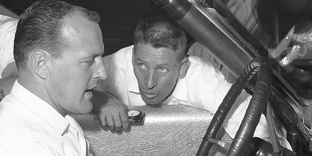 A.J. Foyt was one of the many great racers to drive for the Wood brothers.