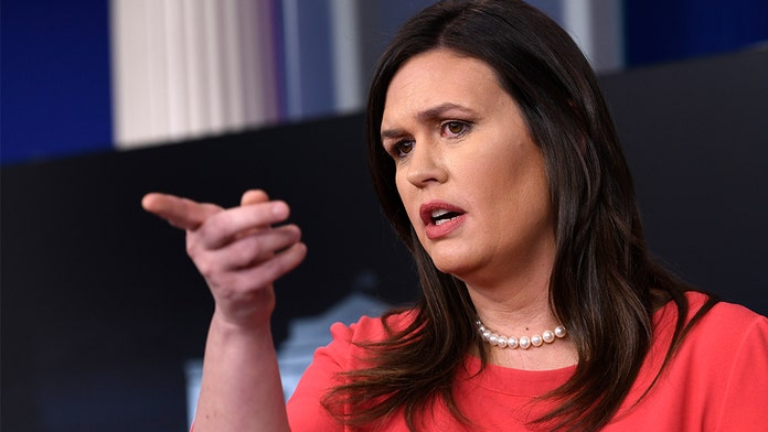 Sarah Sanders: Democrats should be embarrassed for Russia collusion claims - when it actually happened unde...