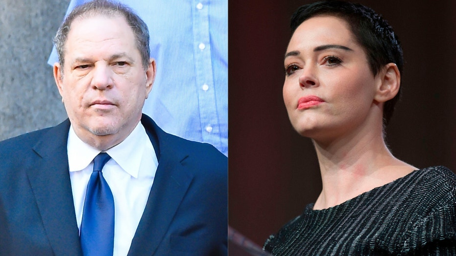 Rose McGowan: Harvey Weinstein framed me with cocaine charge