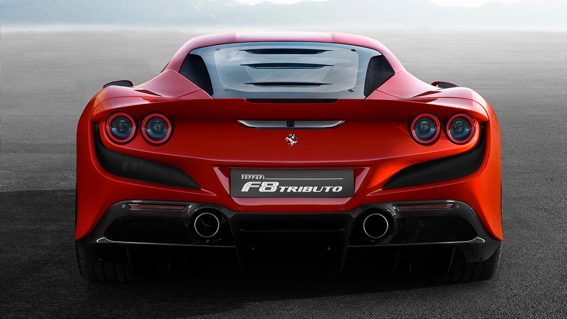 Ferrari F8 Tributo rear view