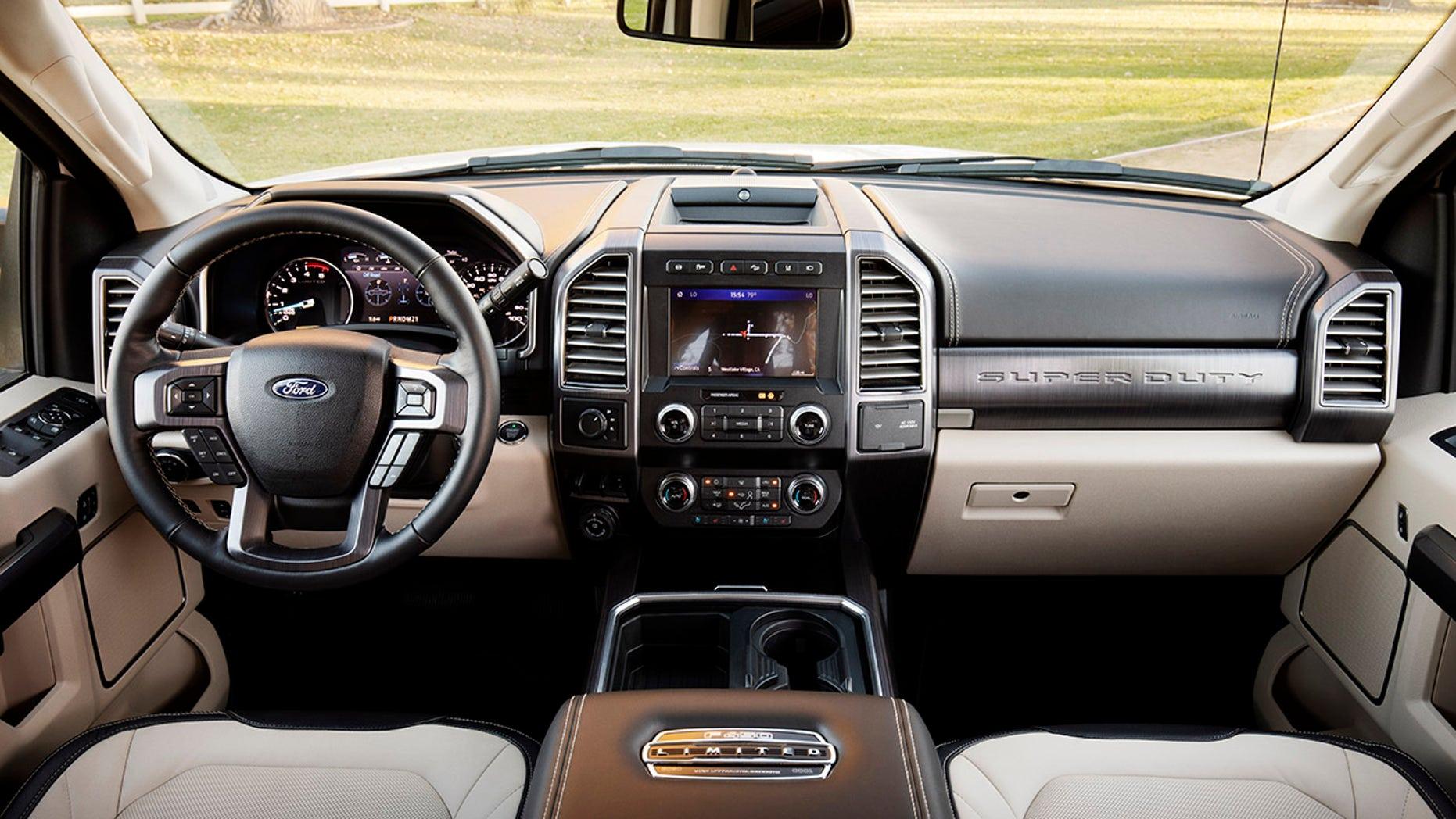 2020 Ford F-Series Super Duty interior