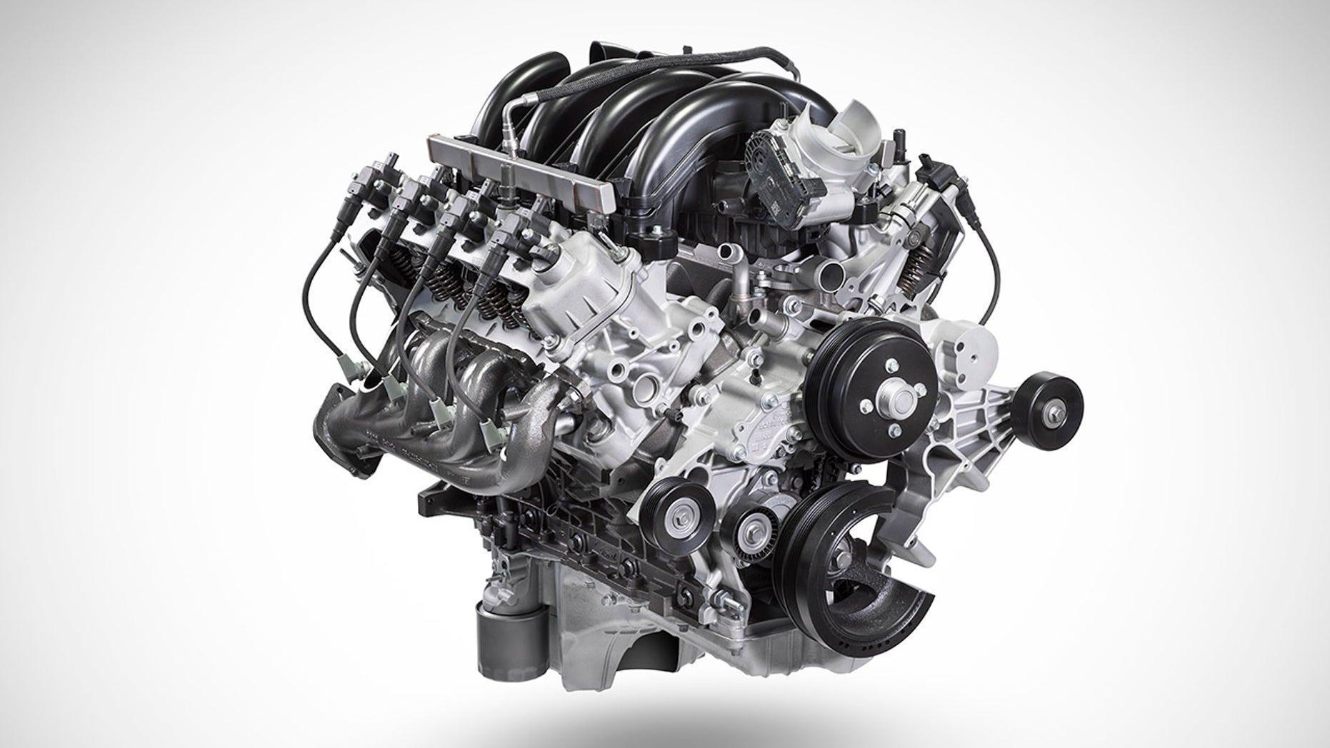 2020 Ford F-Series Super Duty Engine