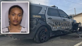 Texas woman accused of driving drunk, crashing into police vehicle