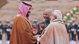 Saudi crown prince lauds centuries-old ties with India