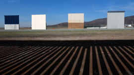 Trump's border wall prototypes to come down
