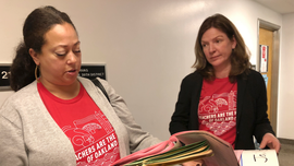 The Latest: Oakland teachers to start strike Thursday